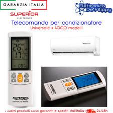 TELECOMANDO UNIVERSALE PER CONDIZIONATORI CON DISPLAY CLIMA 55.00UNI024