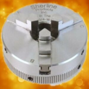 Sherline 3-Jaw Chuck 1031 For Use on Unimat or Cowells lathes