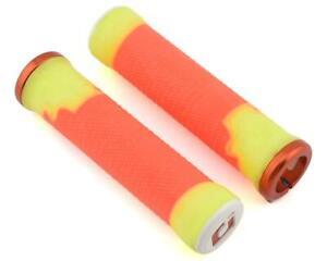ODI AG-2 Lock-On Grips (Orange/Yellow) (135mm) [D35A2OY-O]
