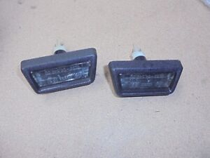 Alfa Romeo Giulietta 116 Pair Of Lights License Plate Black