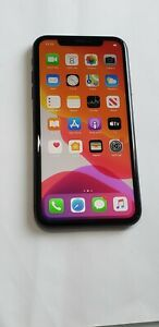 Apple iPhone 11- A2111 - 64GB - Space Gray- T-Mobile Unlocked - BackCrck #69OC
