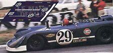 Calcas Porsche 908 02 Le Mans 1970 29 1:32 1:43 1:24 1:18 908/02 decals