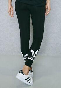 Adidas Women's Trefoil Leggings Black