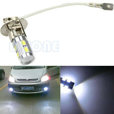H3 White 10 LED 5630 SMD LED Car Auto Bulb Tail Turn Fog Driving Light High Beam