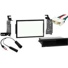 Fits Nissan Frontier 2005-2007 Double Din Stereo Harness Radio Install Dash Kit