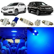 14x Blue LED Lights Interior Package Kit for 2013-2018 Acura RDX +Tool AR5B