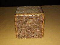VINTAGE ANTIQUE VICTORIAN 1800S AUSTRIAN COURT BOXES COLLAR BOX