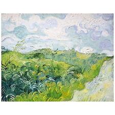 Van Gogh, Green Wheat Fields, Auvers Deco FRIDGE MAGNET, 1890 Mini Gift