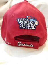 St. Louis Cardinals 2013 World Series Baseball Nike Red Hat _B8