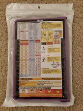 GOTITEE Nursing Edition Folding Clipboard Aluminum Student Nurse Doctor Purple