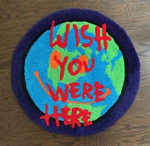 """Custom Travis Scott Cactus Jack Astroworld Wish You Were Here Floor Mat Rug 31"""""""