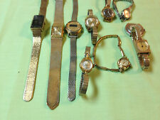Lot of 10 Timex ladies watches,mostly mechanical,parts or repair great lot  P115