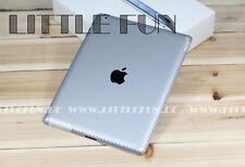 iPad Schutzfolie Carbon Aufkleber Hülle Case Sticker für iPad 2 Wifi Silber