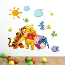 Cute Winnie the Pooh Nursery Room Wall Decal Decor Stickers Kids Baby Bedroom HA