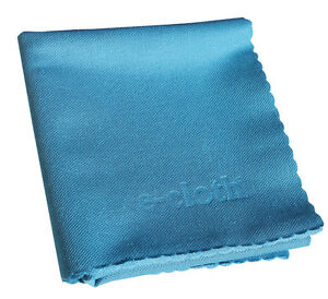 E-Cloth GLASS & POLISHING Cleaning Cloth Window Mirror CLEANS W/ WATER Multi Use