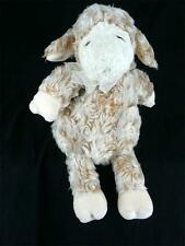 "GUND Parsley Curly Hair Lamb Swirls Tan Soft Plush Toy 11"" Lovey Sheep Toy"