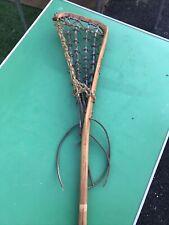 New listing Vintage Hattersley's Viktoria Lacrosse Stick