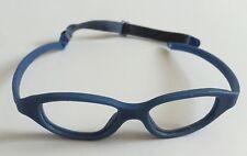 Miraflex Eva 43/15 Glasses Flexible Childrens Eyewear Frame Mira Flex Blue Italy