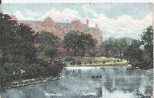 Postcard - University Sheffield Yorkshire posted 1907