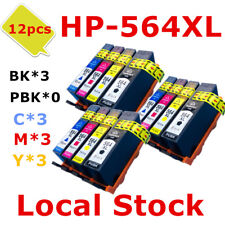 12x HP564XL 564 Compatible ink Cartridges for HP 5520 5510 7520 5514 6510 6512