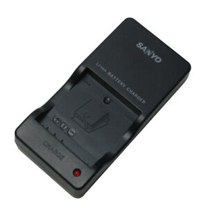 NEW Sanyo VAR-L20N Battery Charger for Sanyo DMX-C4 DMX-C5 DMX-C6 DSC-C4 DSC-C5