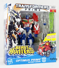 Transformers Prime Beast Hunters Voyager Class Optimus Prime Action Figure