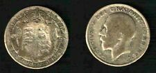 GRAN BRETAGNA - KING GEORGE V SILVER HALF CROWN 1922 -  BB+   N.208