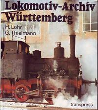 Lokomotiv-Archiv Württemberg ~Reich bebildert~transpress~ 1. Auflage