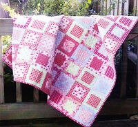 PATTERN - Rebekah Amy Quilt - easy pieced quilt MINI PATTERN - Creative Card