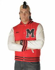 Adult Teen TV Glee Puck Football Player Jacket Costume