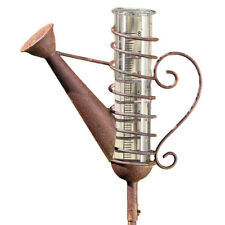 Regenmesser metall ebay for Gartendeko rostoptik