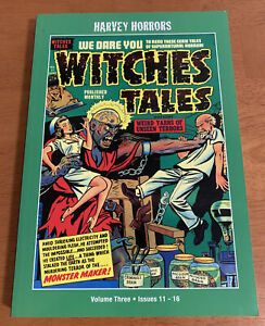 HARVEY HORRORS Collected Works WITCHES TALES - Volume 3 Issues 11-16 PSArtbooks