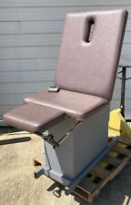 Hill Ha90e Treatment Amp Exam Medical Table Chair W Stirrups Powered High Low