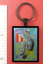 EVEL KNIEVEL TOY STUNT CYCLE KEY RING