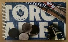 2014-2015 NHL TORONTO MAPLE LEAFS COMPLETE SEASON FULL THREE (3) TICKET BOOK