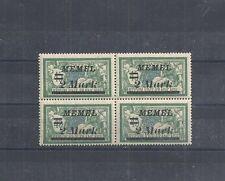 Memel, Litauen 1922 Michelnr: 88 Fehler III+IV+IV **,postfrisch,Michelwert € 100