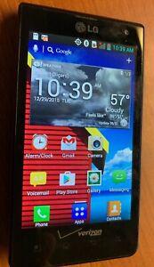 LG Lucid VS840 - 8GB - Purple (Verizon) Smartphone - Used - Works