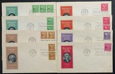 US #804//851 ML-1 FDC Ioor Prexie Cachet Un-Addressed (16). Not Complete.