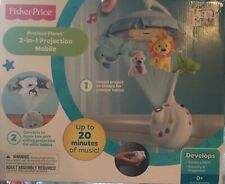Fisher-Price Precious Planet 2-in-1 Projection Mobile NIB Brand New Factory Seal