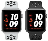 Apple Watch Series 3 Nike+ Aluminum 42MM Silver Space Gray | Excellent A-Grade