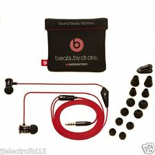 Genuine Monster Beats by Dr Dre iBeats In Ear Headphones Earphones WITHOUT BOX