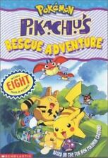 Pokemon Chapter Book Pikachus Rescue Adventure Tracey West 2000 Paperback unread