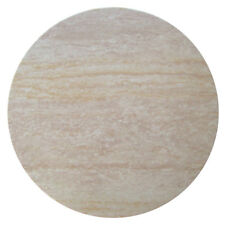 NEW Travertine Round Resin Table Top - By Designs,Dining Tables
