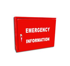 Emergency Information Cabinet