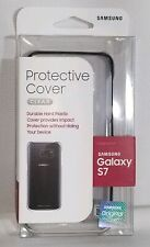 Genuine OEM Samsung Galaxy S7 CLEAR Protective Cover Case NEW