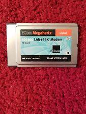 3Com Megahertz 10/100 Lan+56K Modem Pc Card 3Ccfem556B
