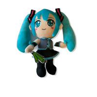 Vocaloid Hatsune Miku Anime Cartoon Stuffed  Figure Plush Doll Toy 11 inch FW