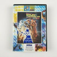 Back to the Future III 3 | Sega Master System SMS | PAL | Missing manual