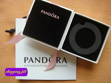 Genuin Pandora Jewellery Bracelet Gift Box & Jewellery Gift Bag with Pink Ribbon