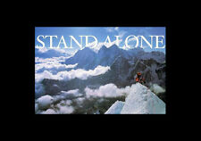 STAND ALONE Inspirational Motivational MOUNTAIN CLIMBING Wall POSTER